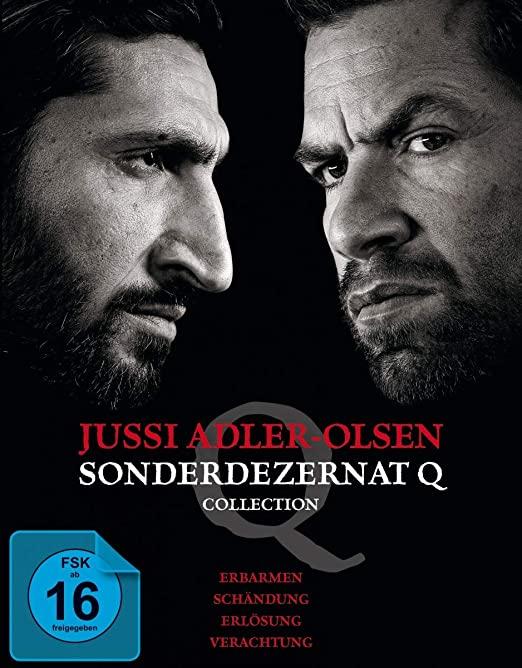 Sonderdezernat Q: Spielfilm-Collection 1-4 auf DVD und Blu-ray